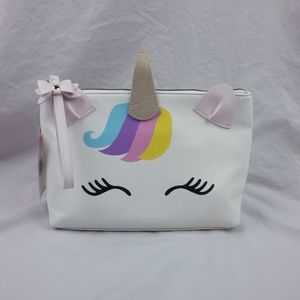 Betsey Johnson Large Cosmetic Bag with Strap NWT